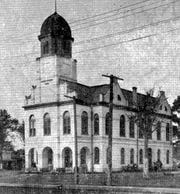 St. Landry Parish Courthouse where the LPA held its 1888 state convention, shown here in early 1900s.