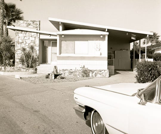 Blue Skies at 70260 Hwy 111 in Rancho Mirage, circa 1960