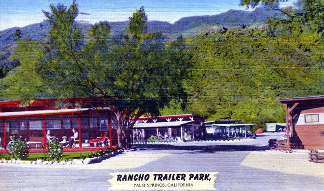 Rancho Trailer Park at 1563 S. Palm Canyon Dr., circa 1950