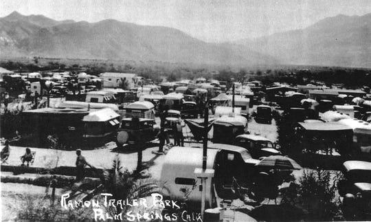 Ramon Trailer Park 1441 E. Ramon Rd., circa 1940