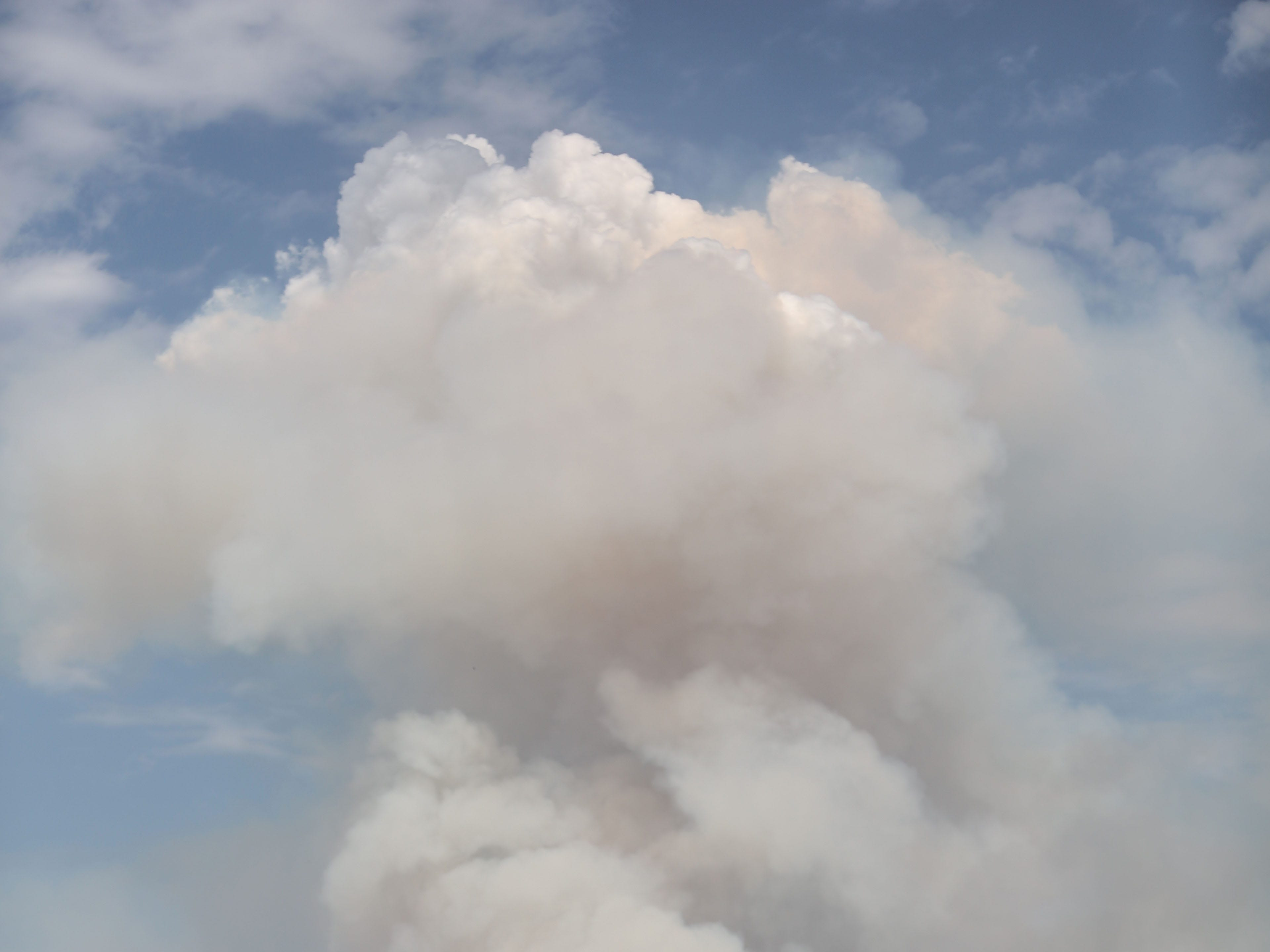 The Holy Fire continues to burn in the Cleveland National Forest on Thursday, August 9, 2018.