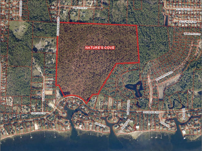 Nature's Cove is an 89-lot subdivision of single-family homes that will be constructed on the north side of Soundside Drive in Gulf Breeze.