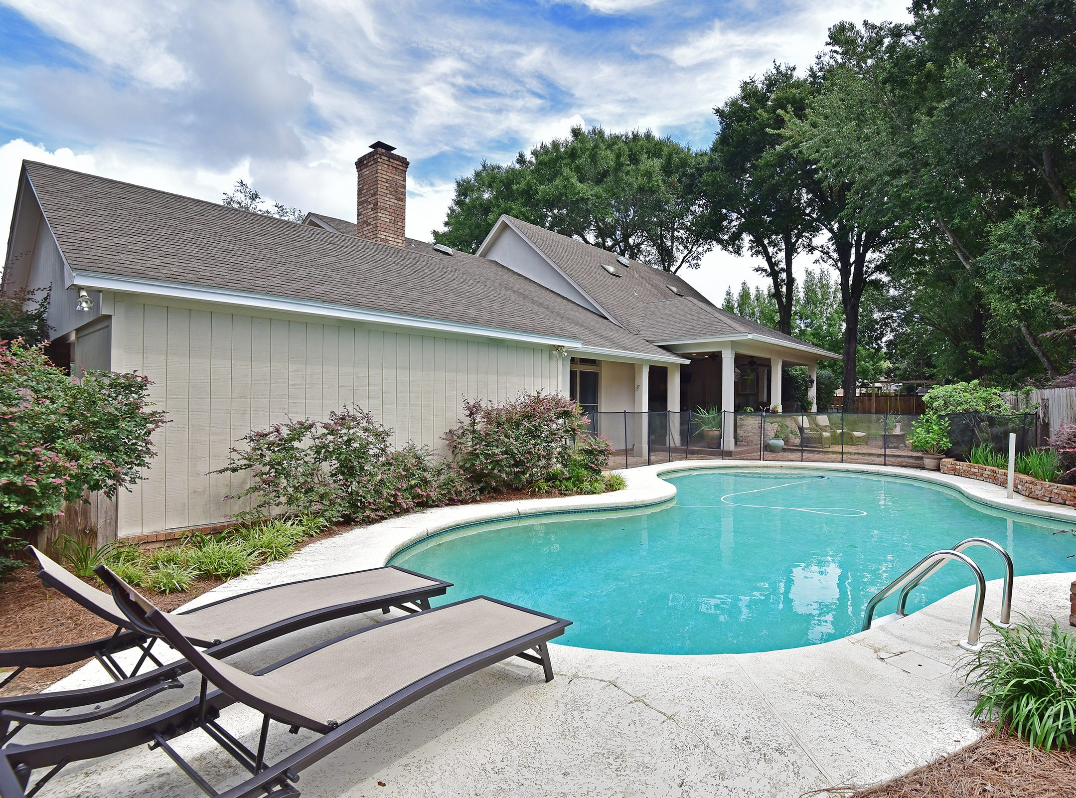 2474 Semur Rd., the pool is a refreshing escape.