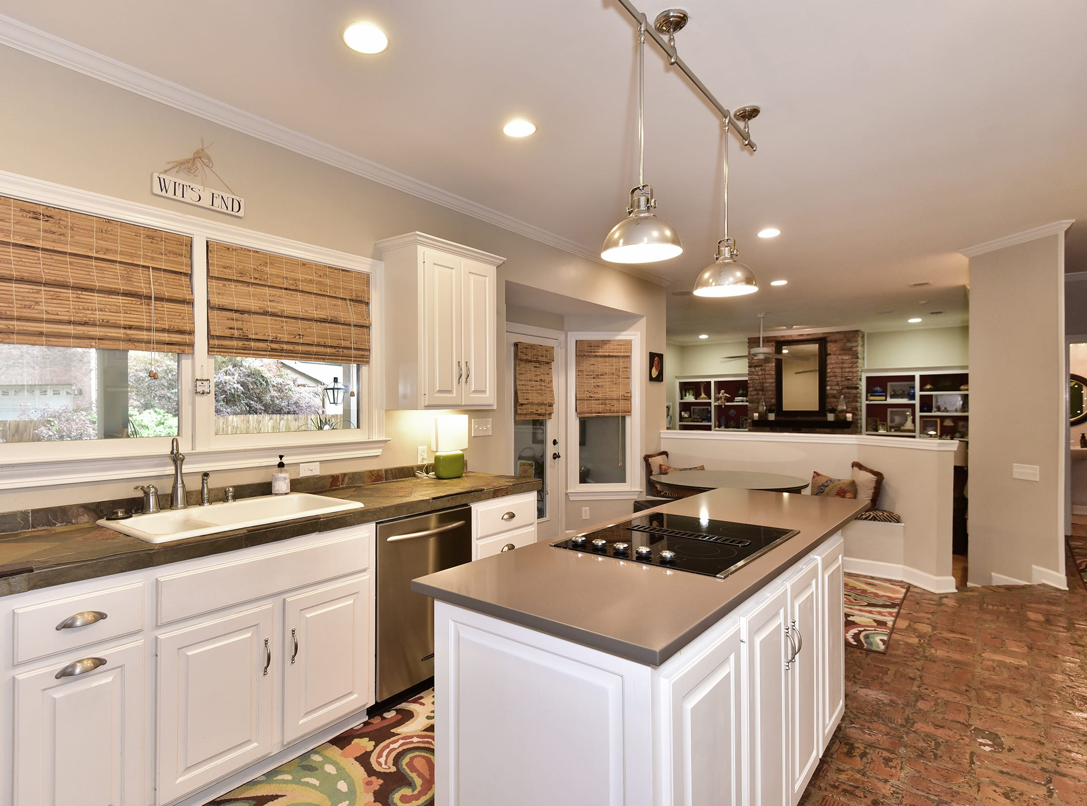 2474 Semur Rd., the kitchen includes a large island and is brimming with natural light.