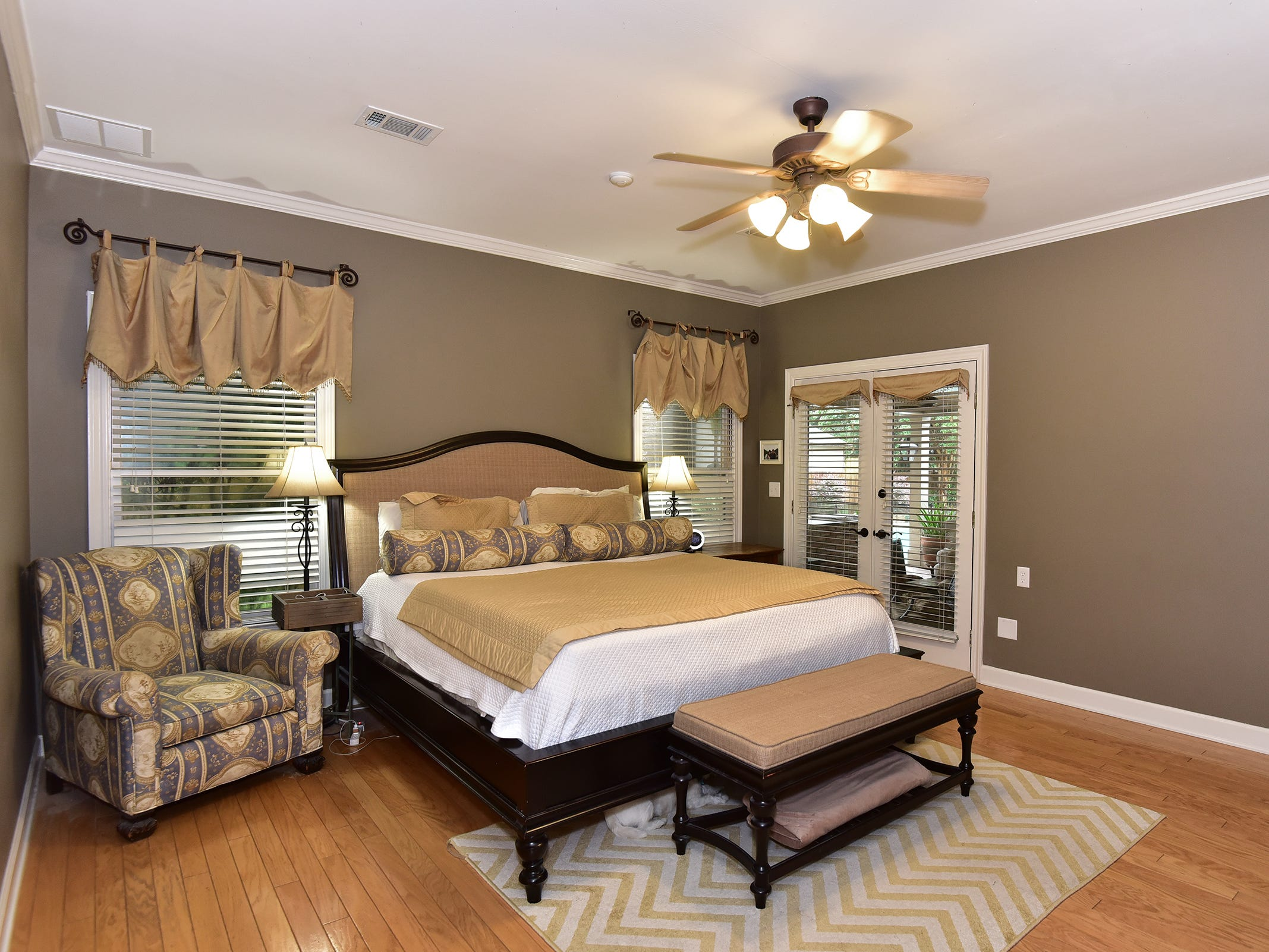 2474 Semur Rd., the spacious master bedroom.