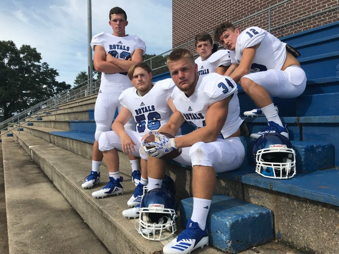 The Jay Royals got a taste of success last year and are aiming for more under the leadership of (back, L to R) Judd Smith, Stone Brown, Connor Roberts (front row, L to R) Cameron Driscoll and James Eddings.