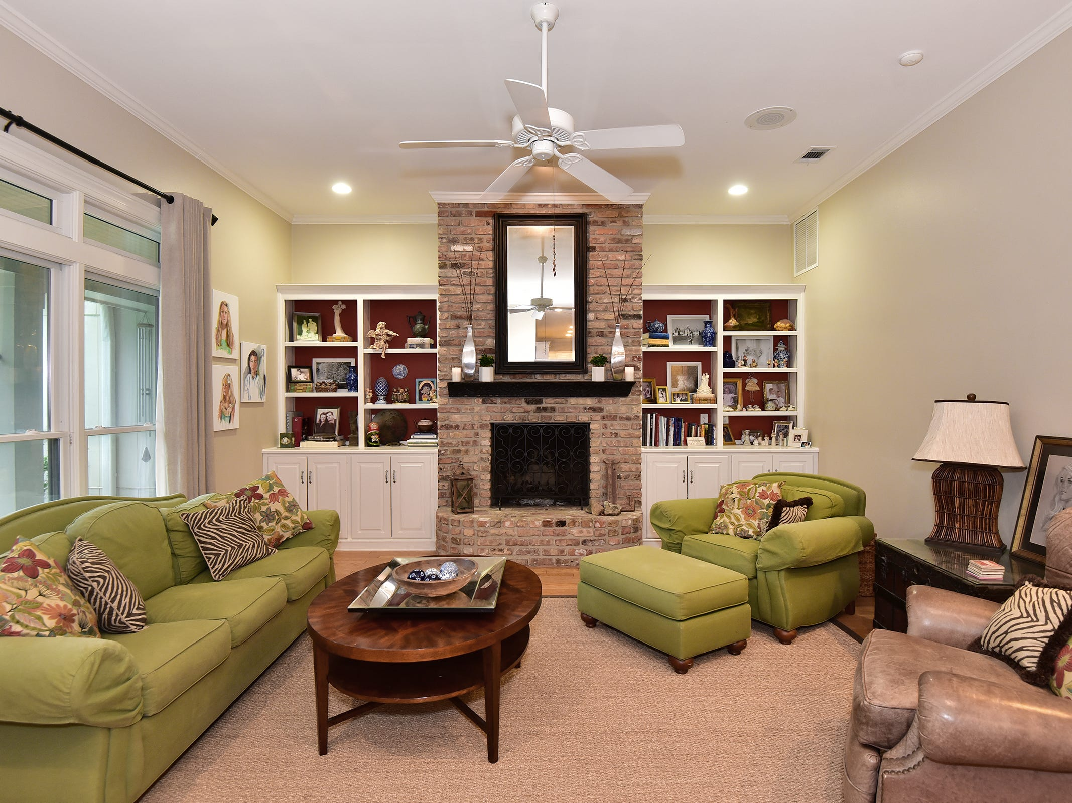 2474 Semur Rd., the family room is a cozy, comfortable spot for entertaining.