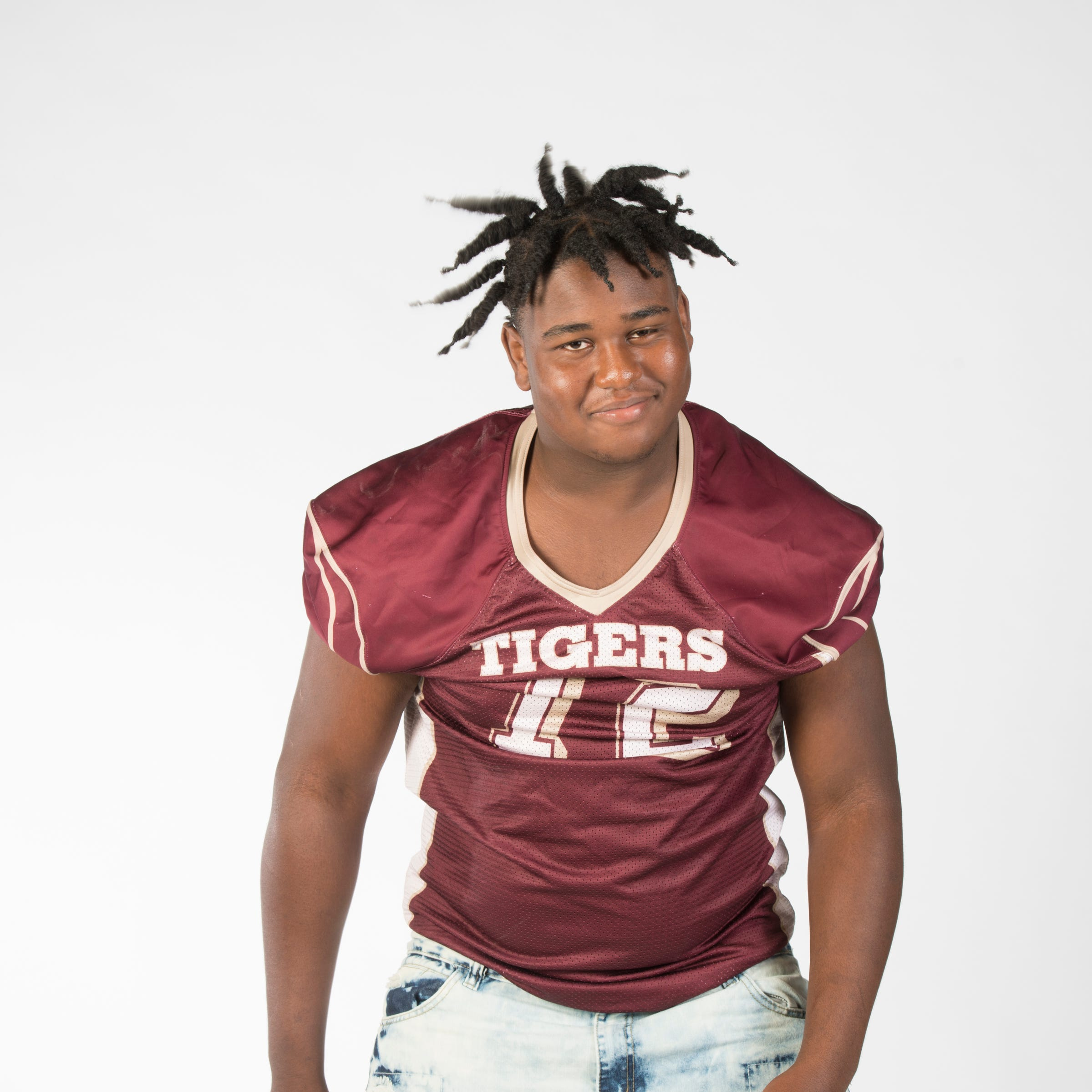 Super Senior - August 9, 2018 -  Pensacola High School - LT - Adrian Medley