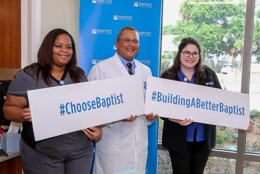 Baptist opens new convenient care walk-in clinic in downtown