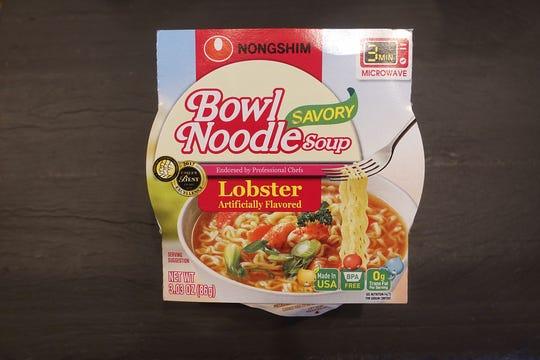 Nongshim Savory Lobster Bowl