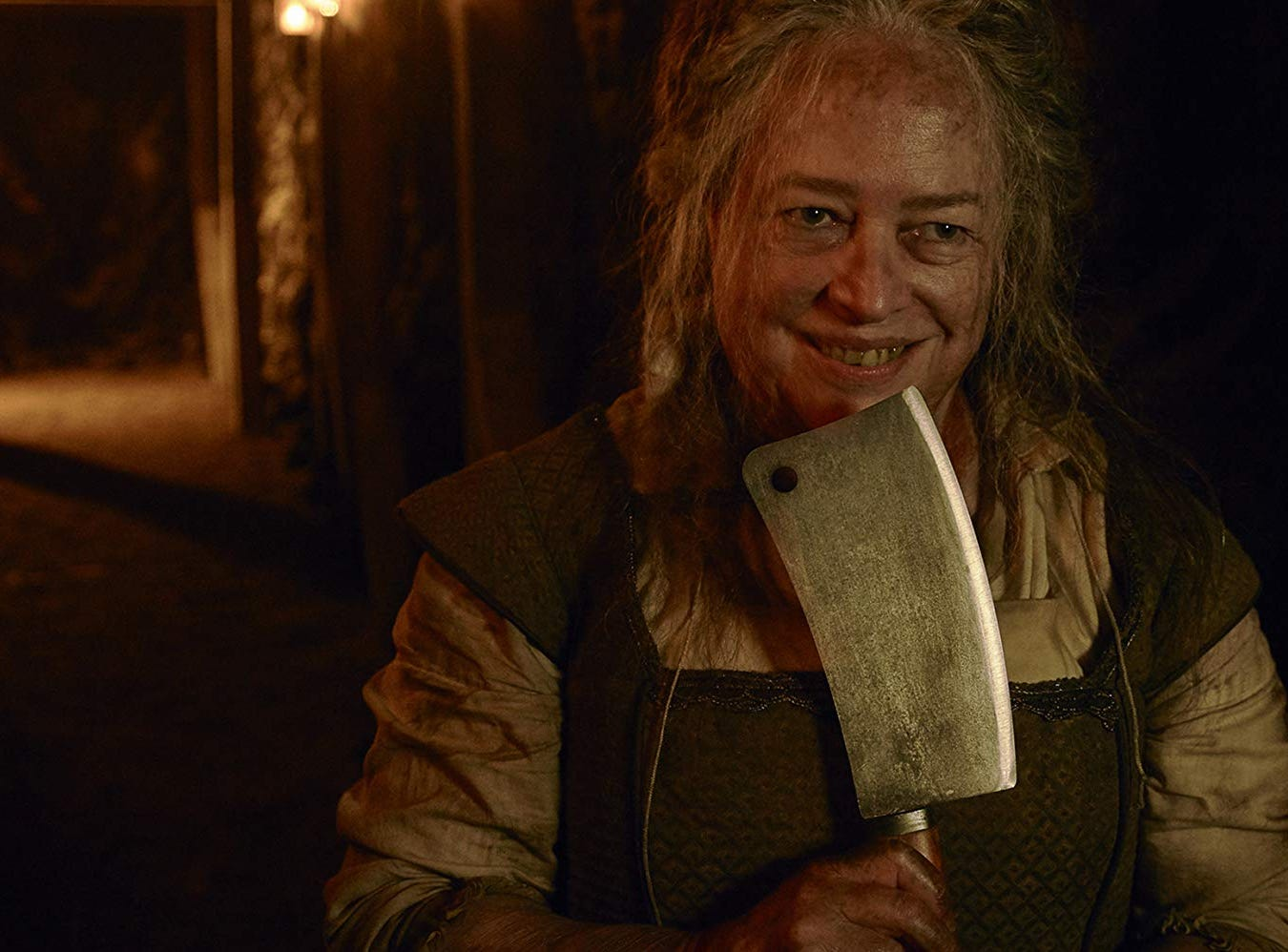 """Kathy Bates as The Butcher in """"American Horror Story: Roanoke"""" on FX."""