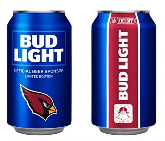 The Cardinals' 2018 Bud Light NFL team can.