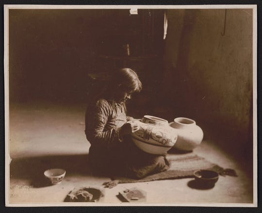 Nampeyo was one of the most influential Hopi potters of her time.