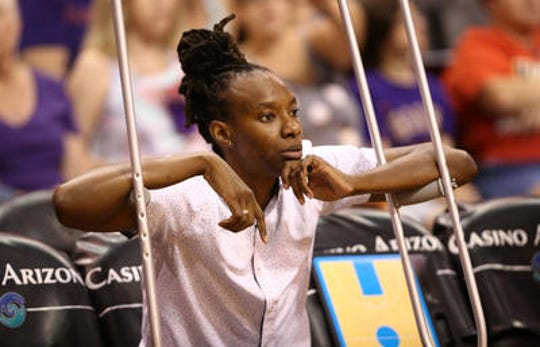 Sancho Lyttle is still rehabbing from an injury suffered last season and her future with the Mercury is questionable.