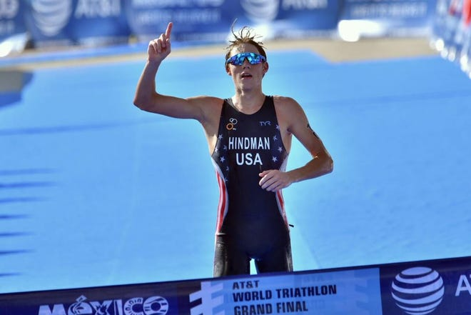 2016 Junior World triathlon champion Austin Hindman is among six athletes joining USA Triathlon Project Podium, which will be based in Tempe.