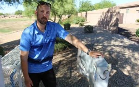 Josh Dupper of R.H. Dupper Landscaping in metro Phoenix says his industry lags in the technical knowledge needed to finely tune water use to weather conditions.
