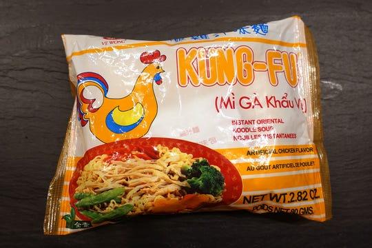 Ve Wong Kung-Fu Instant Oriental Noodle Soup