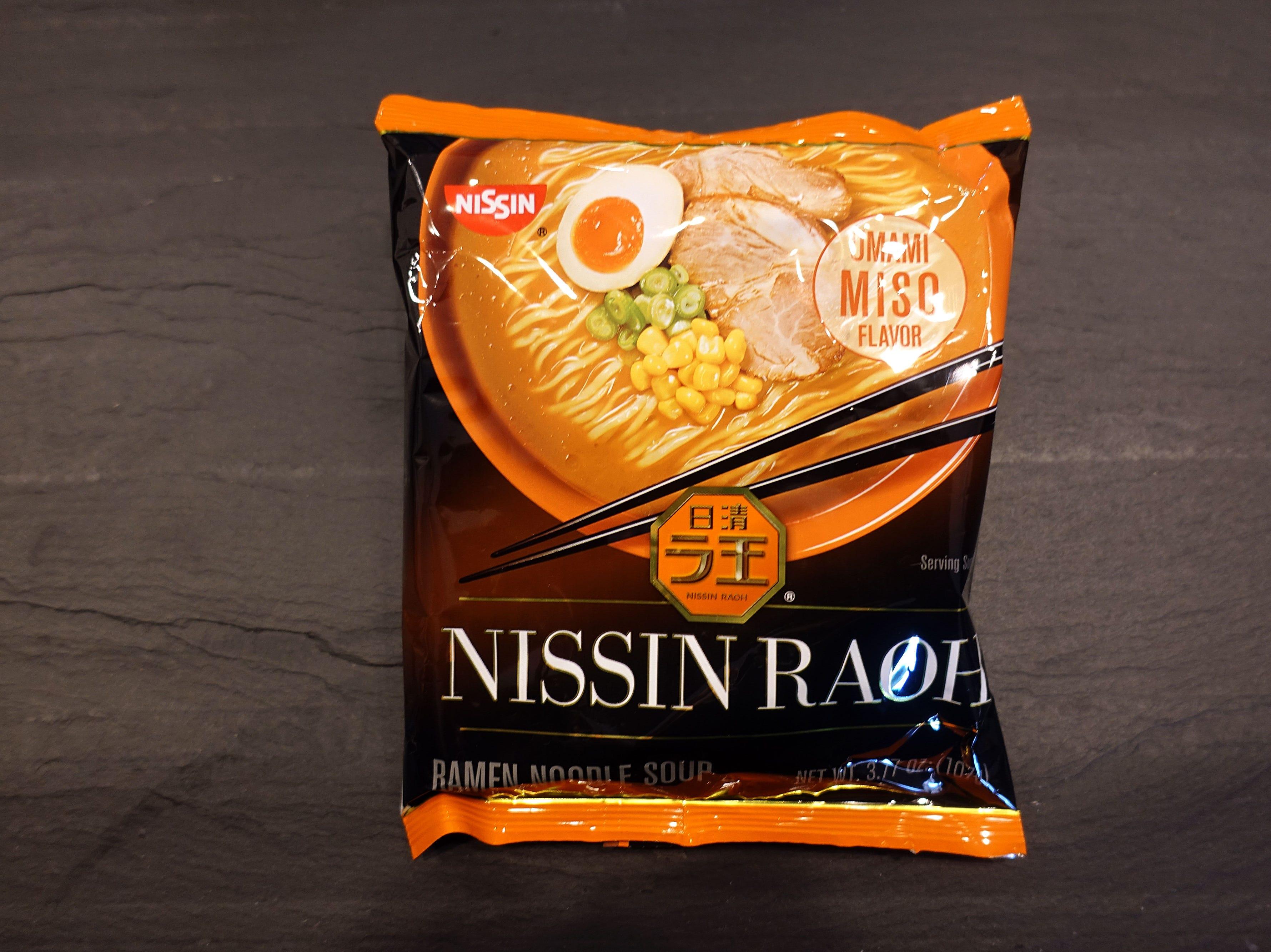 Nissin Raoh Umami Miso Ramen