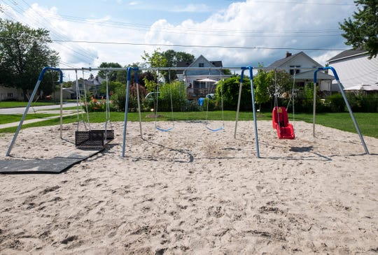Eagle Scout Project Brings Accessible Swing Set To Marine City Beach