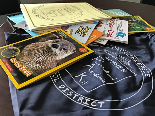 Cheryl Haines, a Morse Elementary School teacher in the Poughkeepsie district, created the Summer PAK (Personalized Academic Kit) Program to help curb learning loss that students experience each summer. Each participating student gets their own small library of books to keep, along with packets of work to complete.