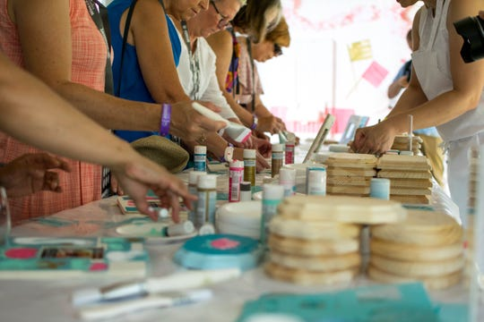 There's a craft tent at this food and wine event held in Brooklyn's Prospect Park as part of the Martha Stewart Wine & Food