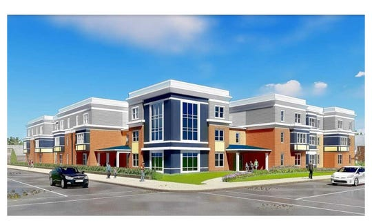 A senior housing apartment building, Parkview Corner, is planned for South  Main Street at East South Street in Chambersburg.
