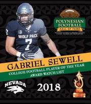 Gabriel Sewell's watch list announcement