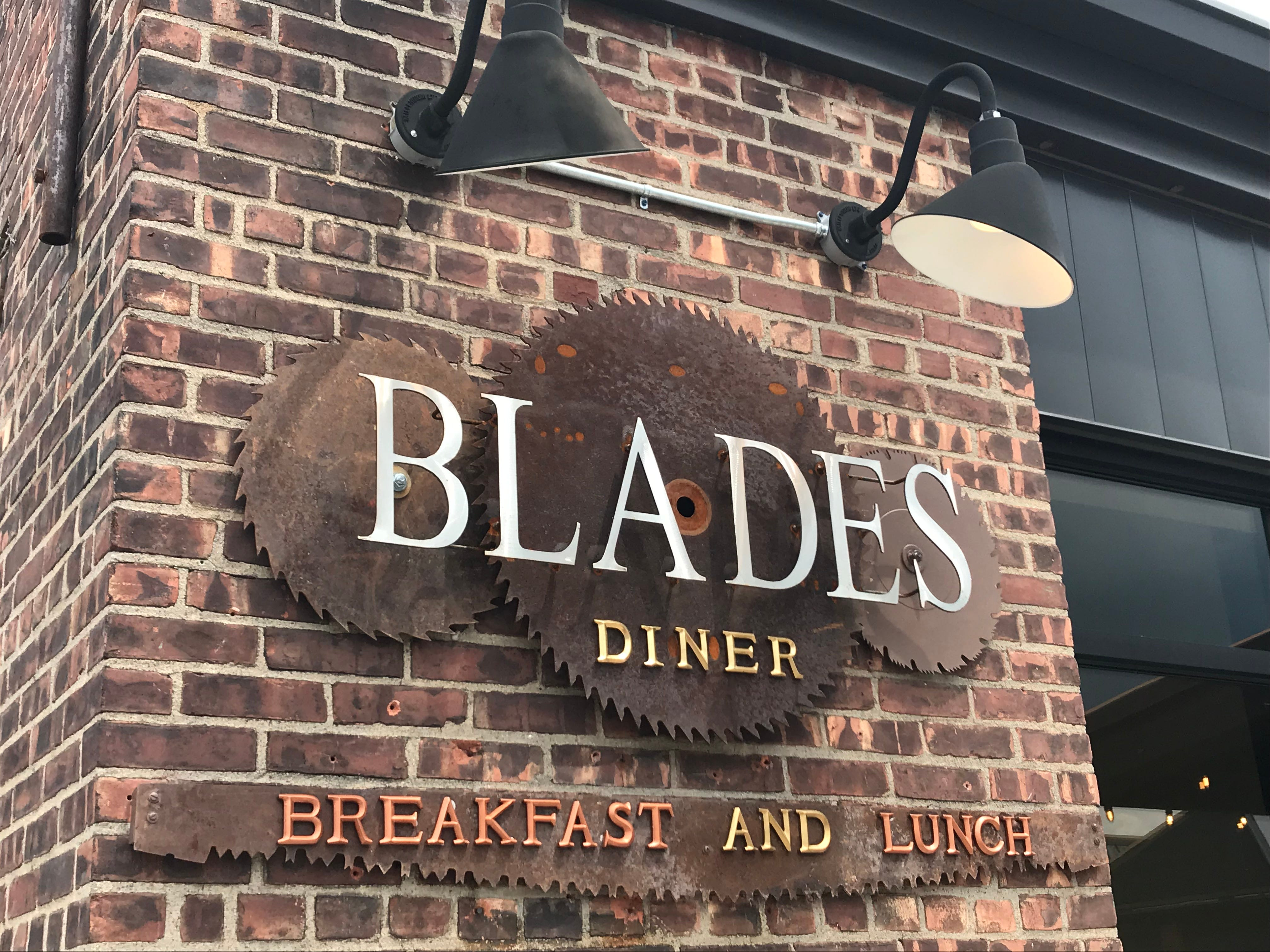 Blades has decorative elements similar to its predecessor that opened in the 1980s.