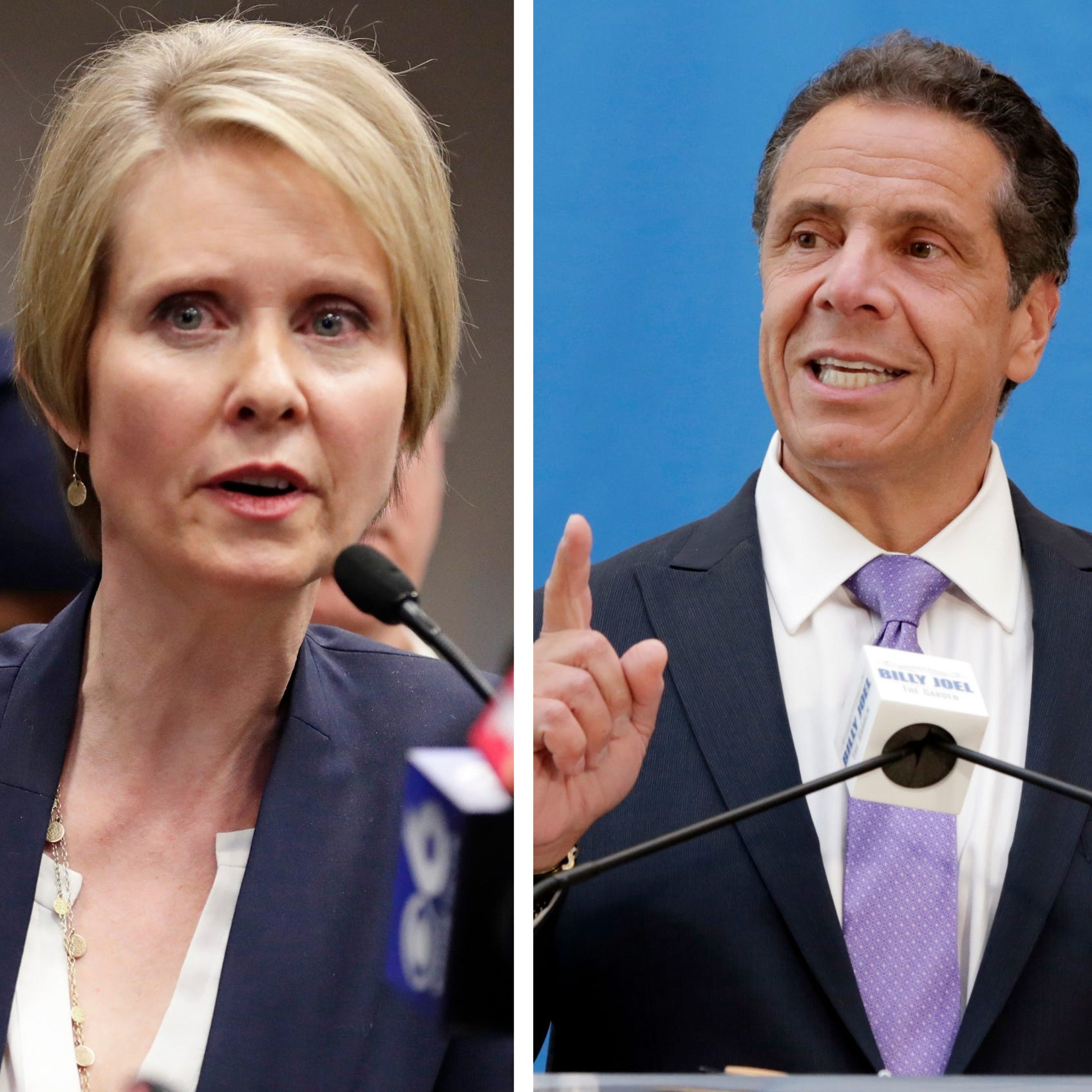 New York primary elections: Andrew Cuomo, Cynthia Nixon race highlights Thursday slate