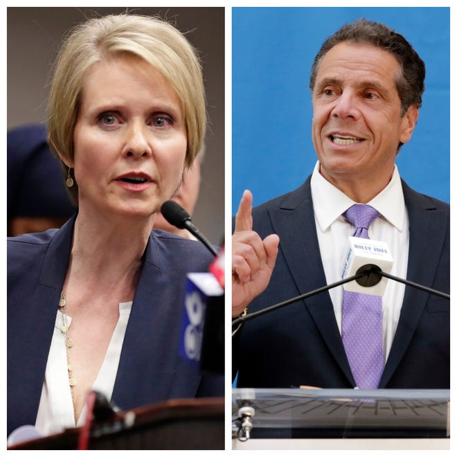 Cynthia Nixon and Gov. Andrew Cuomo will face off in the Sept. 13 NYS gubernatorial primary.