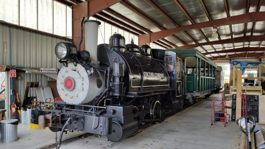 The Rochester and Genesee Valley Railroad Museum in Rush is hosting rides on the Viscose No. 6, a vintage steam locomotive, Saturday and Sunday, Aug. 18 and 19 and 25 and 26.