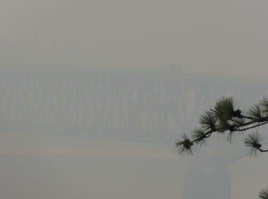 Carr Fire Smoke