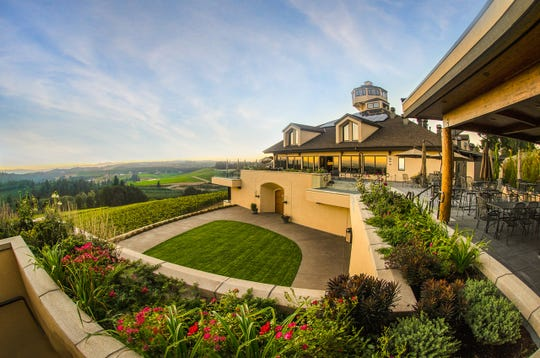 Nathan Good Architects redesigned Willamette Valley Vineyard's tasting room and hospitality spaces. Additions included a new barrel aging facility, two LEED Certified guest suites, and outdoor decks that overlook the vineyards.