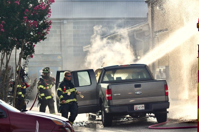 The Ocean City Fire Company responded to a truck fire around 8 a.m. Thursday morning.
