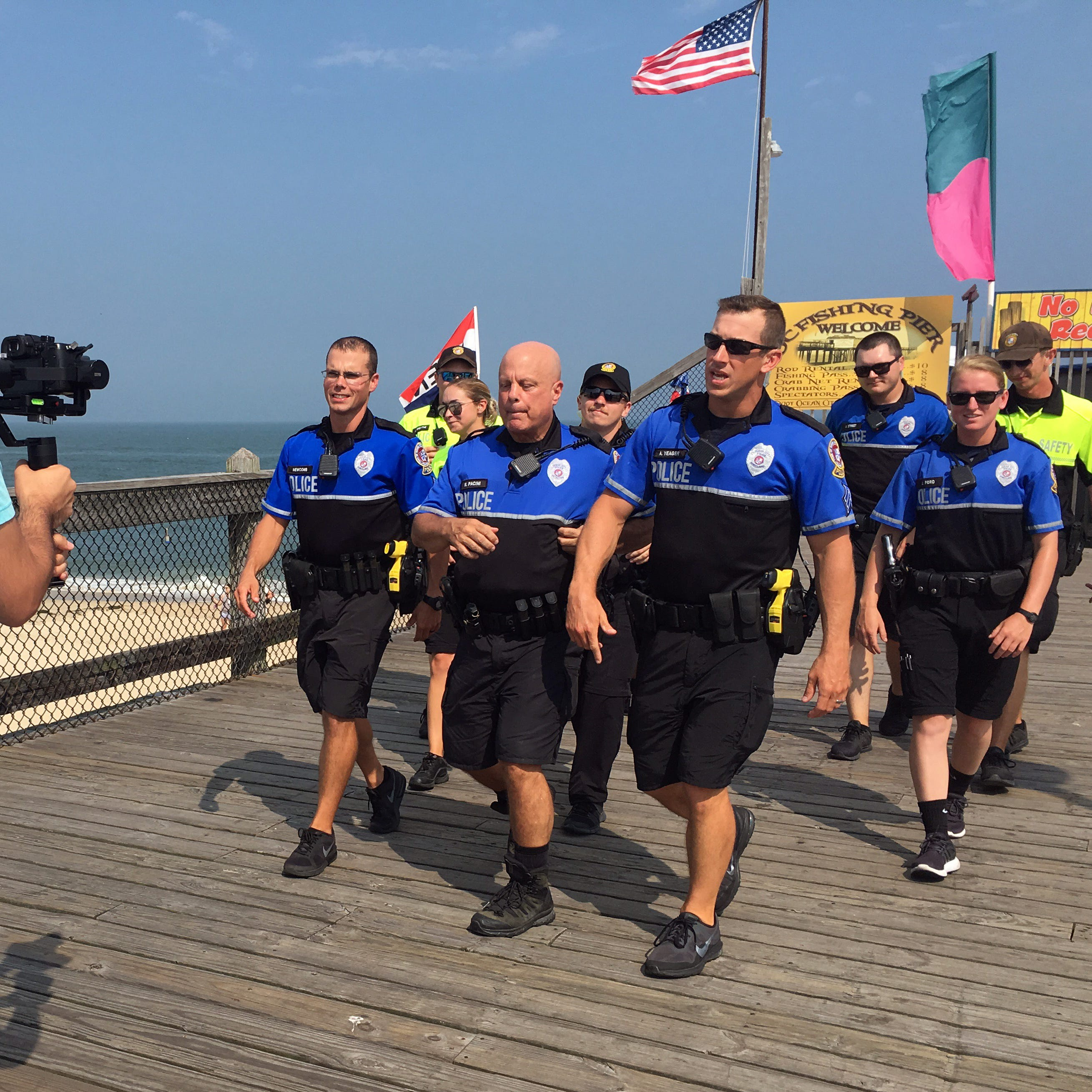 Ocean City police shows off resort in lip sync challenge video
