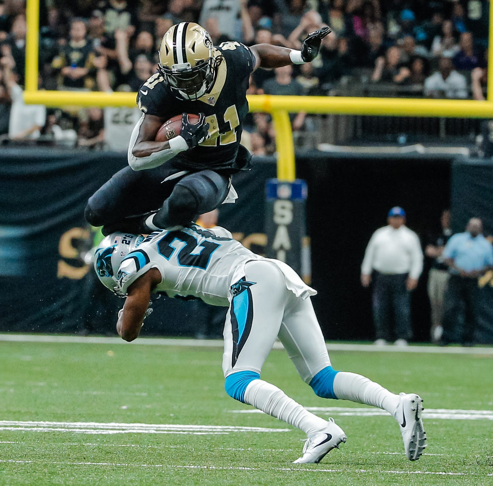 Saints' Alvin Kamara doesn't think highly of the Super Bowl champion Eagles