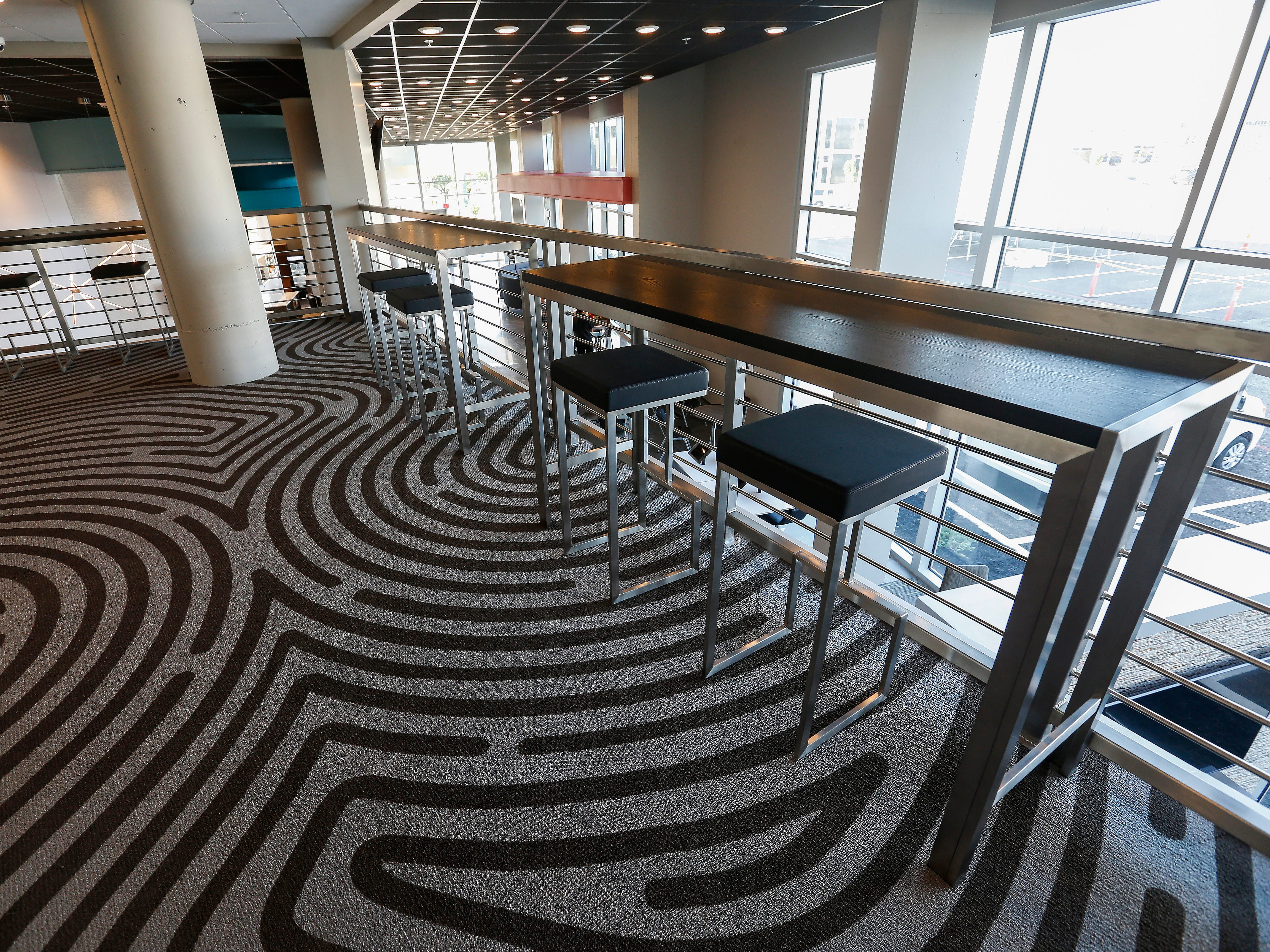 The Zen Zone is located on the mezzanine level at the new Vib Hotel, located at 1845 E Sunshine St. The hotel will hold its grand opening on Friday, Aug. 10, 2018.