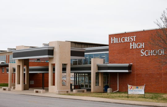 A tour of Hillcrest High School is scheduled for the evening of March 6.