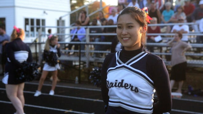 """Chinese student Stella Xinyi Zhu fits right in with American private school in """"Maineland."""""""
