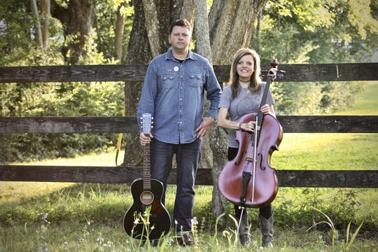 Singer Abe Partridge and cellist Courtney Blackwell play Thursday night at Finnegan's Wake.