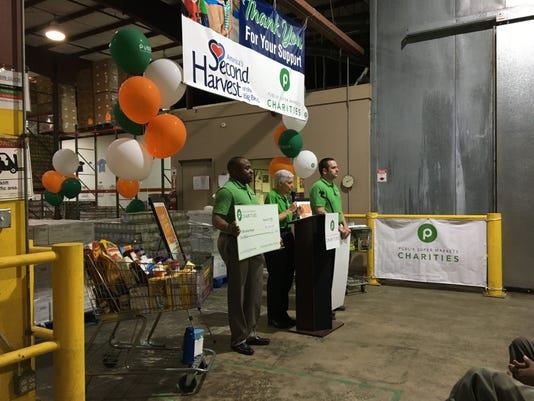 Publix donates $100,000 to Second Harvest of the Big Bend