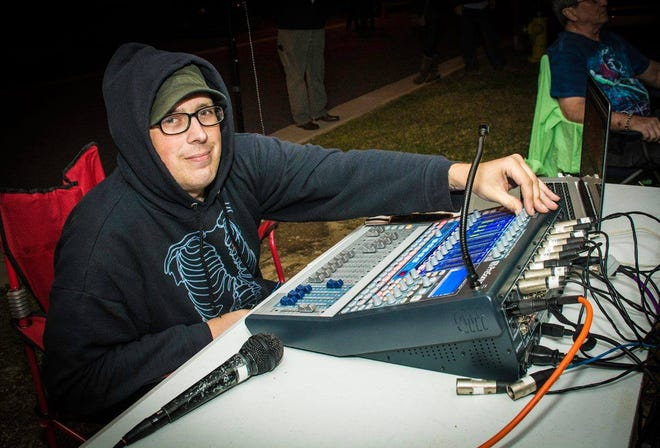 Sound guy and drummer Jay Godin will be remembered with a host of local musical acts on Saturday at The Wilbury.