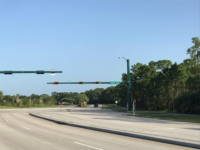 The traffic signal at 43rd Avenue and 53rd Street has been activated.