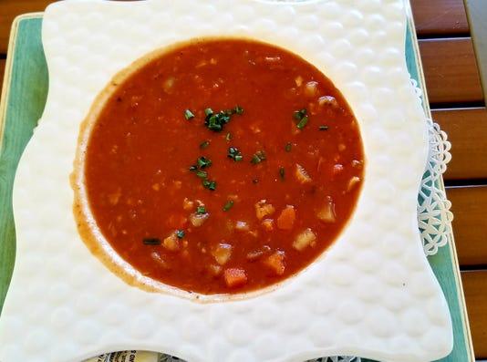 Blue Pointe Soup