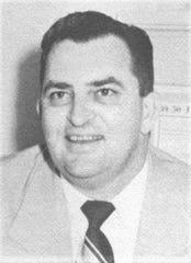 School principal Erwin Johnwick in 1949.