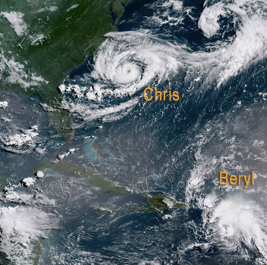 NOAA now predicts less-active Atlantic hurricane season