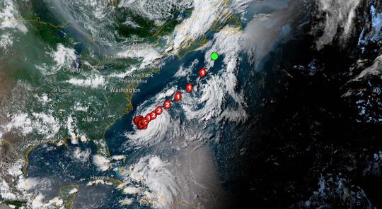 Hurricane Beryl formed in the Atlantic July 6.