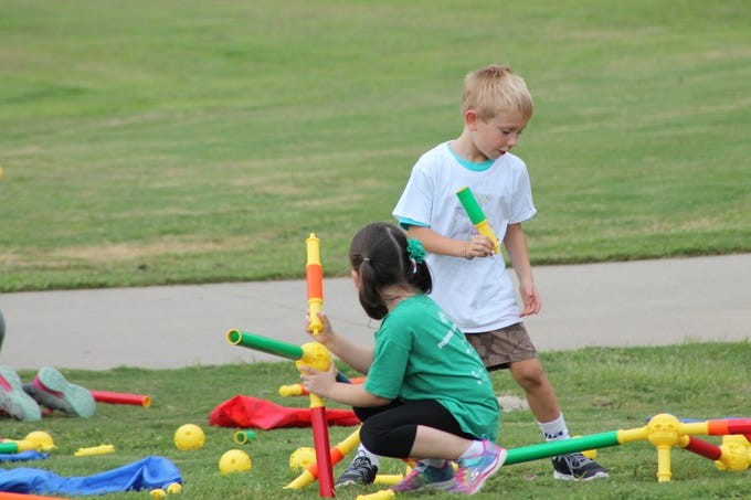 The 2018 Park Hop closing ceremony was held Thursday, Aug. 9, at Legacy Park in Greenville. Sponsored by LiveWell Greenville, the event featured games and activities, prizes, and a visit by the Greenville City Fire Department before rain moved in. Participants celebrated winning prizes during the summer-long scavenger hunt held at city parks.