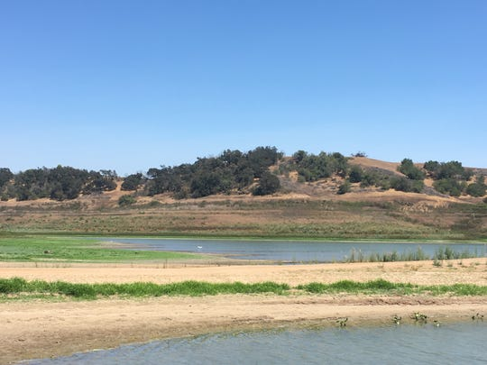 Lake Casitas has dropped to record lows in recent years.