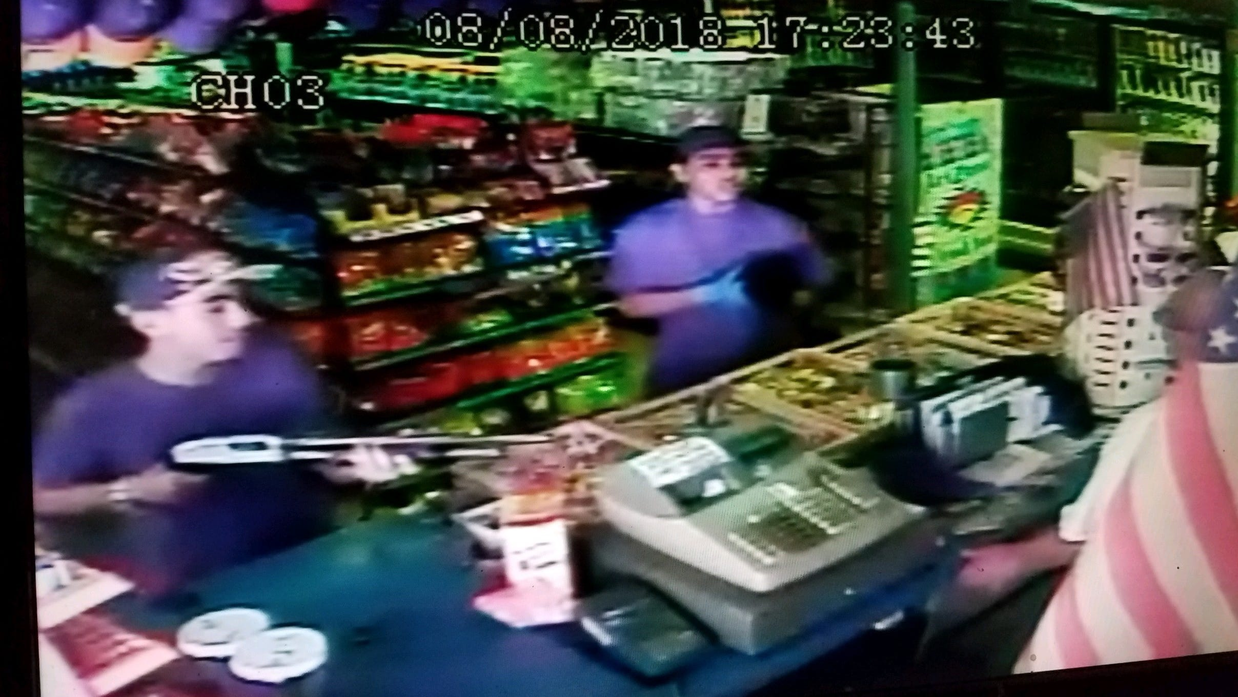 Deputies are searching for these men who are suspected of robbing a Tulare County liquor store.